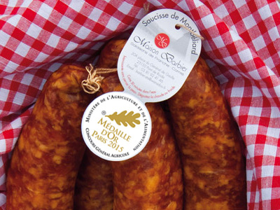 Saucisse montbéliard or paris